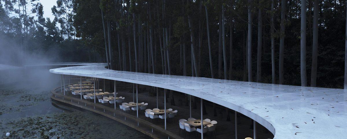 رستوران جنگلی هات پات